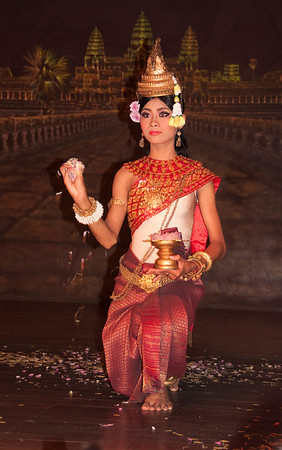Khmer cultural dancer