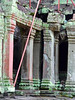 Cambodia - Siem Reap - Angkor - Ta Prohm - crumbling columns