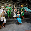 "Apsara Dancers posing in ""Rock Style"""