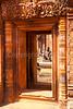 Bantay Srei,10th century Cambodian temple dedicated to the Hindu god Shiva