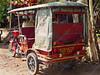 Cambodia - Siem Reap - city - street scenes - tuk-tuk