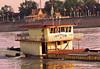 Cambodia - Phnom Penh - Mekong - boats - sinking barge