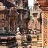Banteay Srey Temple Interior