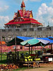 Cambodia - Kandal - Phum Preaek Run - temple