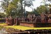 Bantay Srei, 10th century Cambodian temple dedicated to the Hindu god Shiva