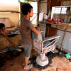 Tonle Sap Village barber shop