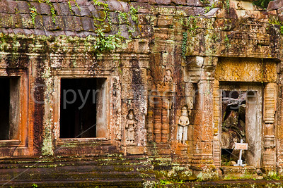 Preah Khan, built in the 12th century
