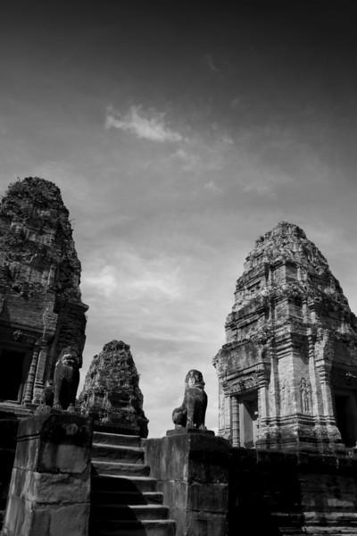 Eastern Mebon Temple, Angkor.