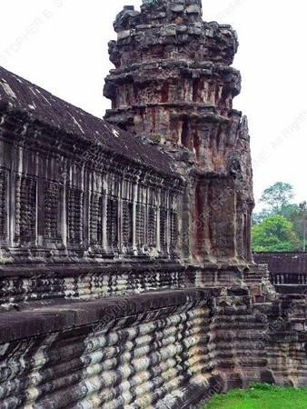 Cambodia - Siem Reap - Angkor - Angkor Wat - rear tower