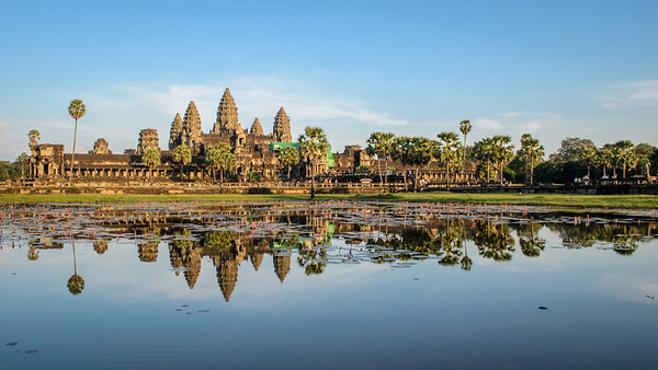 Angkor Wat at dusk