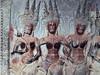 Cambodia - Siem Reap - Angkor - Angkor Wat - stonework - women - dancing