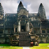 Angkor Wat, rear entrance