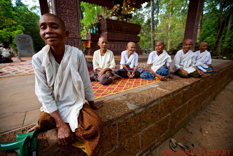 Cambodian Nuns