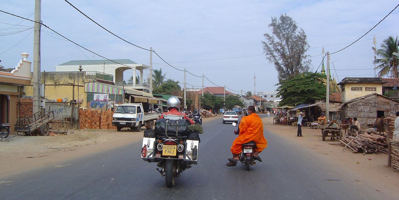 Phnom Pehn - Battanbang road