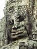Cambodia - Siem Reap - Angkor - Angkor Thom - Bayon Temple - faces - lateral