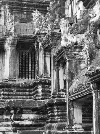 Cambodia - Siem Reap - Angkor - Angkor Wat - main courtyard - steps
