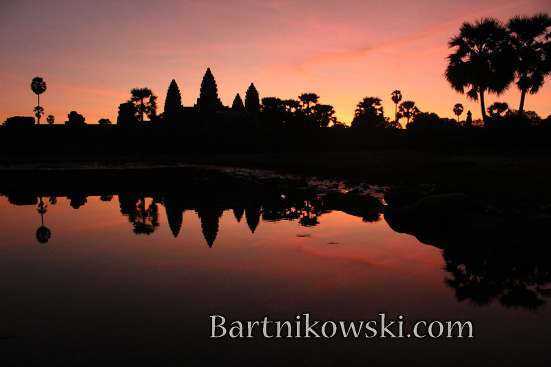 Sunrise at Angkor Wat, Siem Reap, Cambodia
