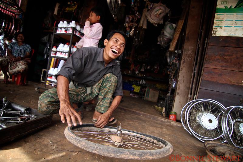 Tonle Sap Village market