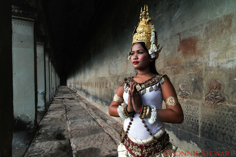 Apsara Dancer at Angkor Wat Temple