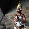 Apsara Dancer at Angkor Wat Temple