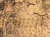 Cambodia - Siem Reap - Angkor - Angkor Thom - stonework - Cham invasion