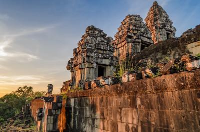 Sunset over Angkor Wat