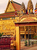 Cambodia - Phnom Penh - temple on outskirts of town