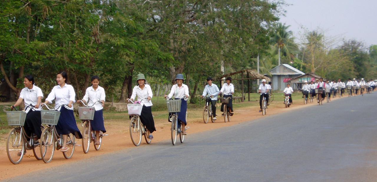 Kampot - Phnom Pehn Road