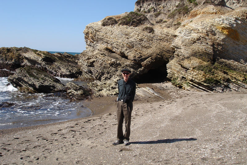 Me at the shore.