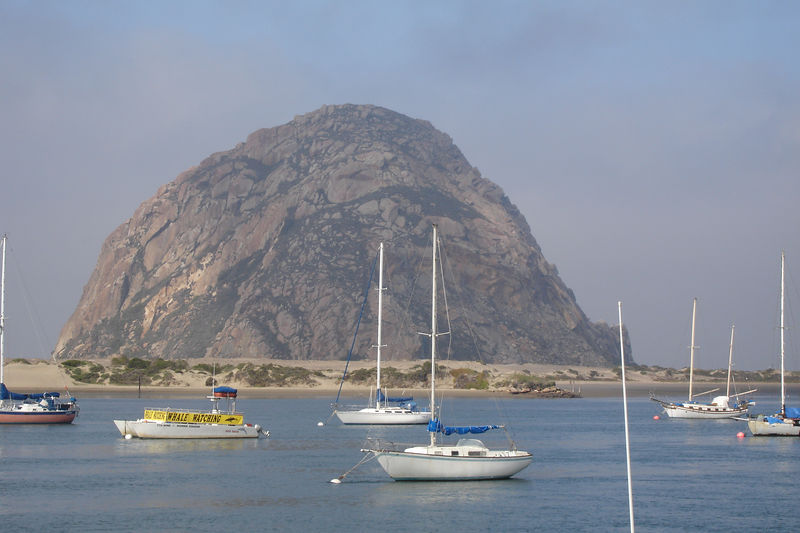 Morro Rock.  There is no other rock like this in any direction for many miles.
