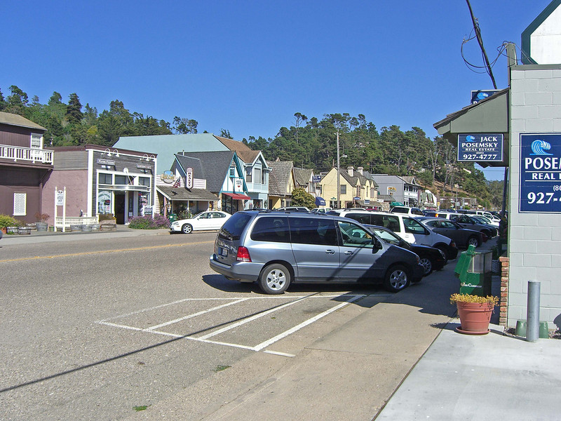 Main St., West Village, Cambria
