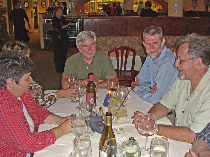 Roundtablers Janet Ruggiero, Wayne Goldberg, Mike Moore, Steve Preston