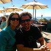Lunch at Moonstone Beach Bar and Grille in Cambria, CA.