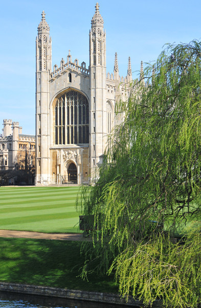 The shot everyone takes of Kings College Chapel.