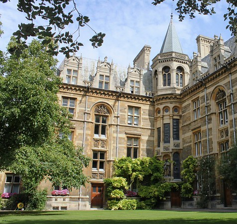 Gonville and Caius College Grounds