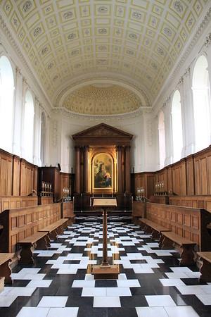 Clare College Chapel - Cambridge