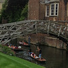 Punting at Cambridge University, UK Vacation 2014-07-08