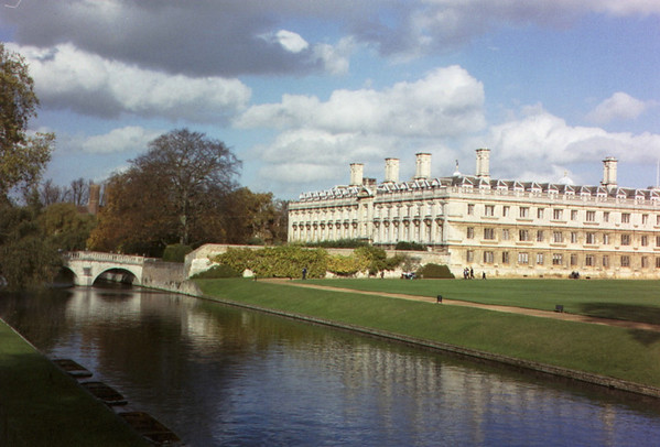 Cambridge University, England in October 2004