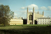 Kings College (Chapel and Wren building) and Clare College, Cambridge, viewed from the backs  - we would love to have your comments.