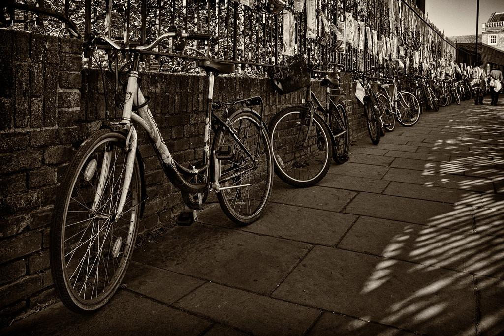 Vintage Cambridge along the Silver Street