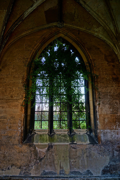 A lovely old world window at St.John's College