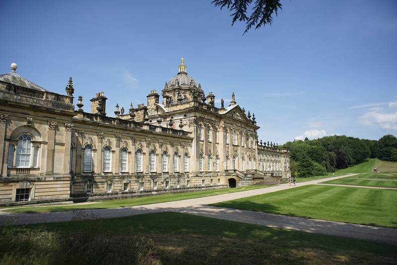Castle Howard film location for Brideshead revisited.