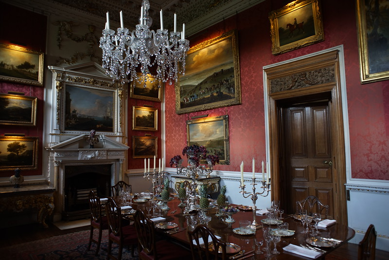 Castle Howard dining room