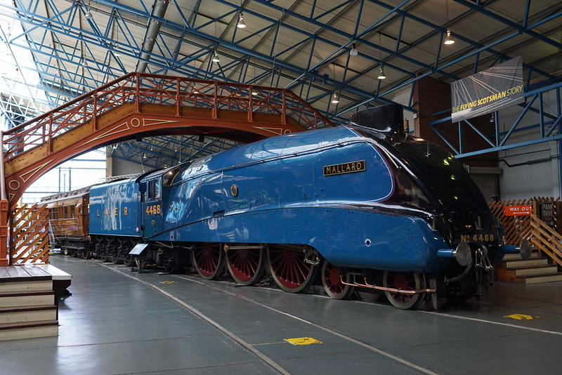 Mallard first train to break 100mph, National Railway Museum York