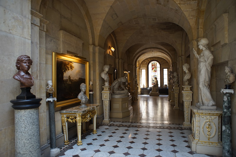 Castle Howard hallway