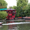 A chinese restaurant on the canal.