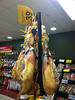 I went to the market to get some water and yogurt. I stumbled on the dried meats section.