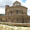 Iglesia de Santa María de Eunate, 12th century octogonal, Romanesque-Mudejar funeral chapel in Muruzábal (Navarre).