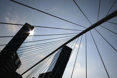 Bilbao - ZubiZuri van Calatrava