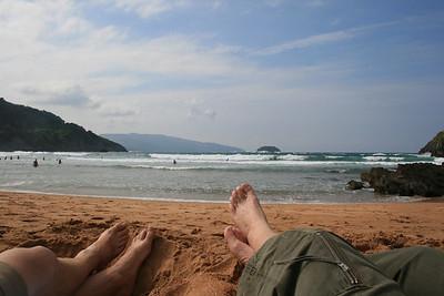 Playa da Laida - Costa de Vizcaya